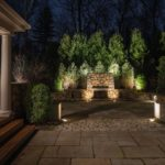 stone landscape lights