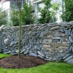 stone landscaping wall ideas