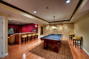 unique basement lighting ideas