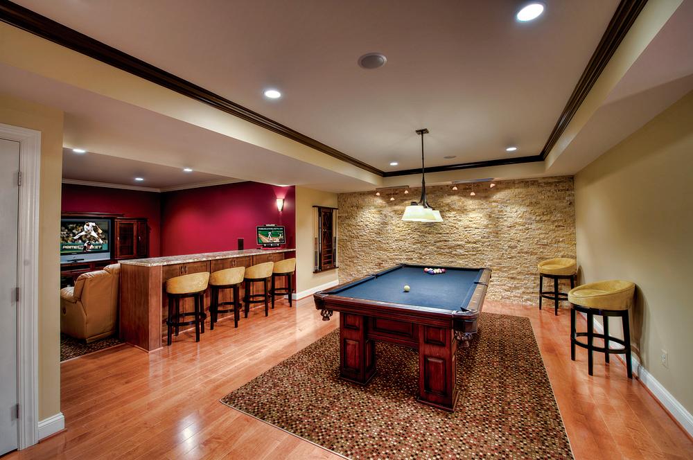 unique basement lighting ideas
