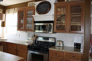upper kitchen cabinets glass