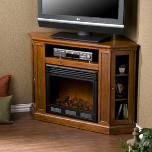 ventless gas fireplace tv stand