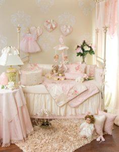 vintage baby nursery decorating ideas
