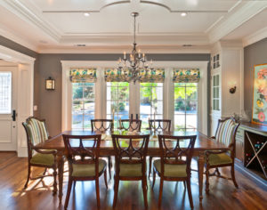 window treatments for small dining room