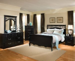 wood full bedroom sets