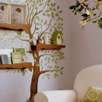 wall painted tree design