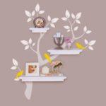 tree design shelf
