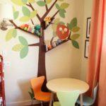 kids tree design room