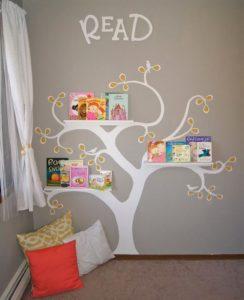 funny tree room design